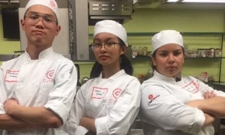 Graduating Seniors Earn Culinary Arts Scholarships